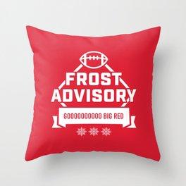 Frost Advisory Throw Pillow