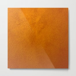 Gold Stucco - Gold Home Decor - Corbin Henry - Faux Finishes - Shimmer Stone Metal Print