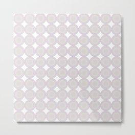 Colorful circle grid Metal Print