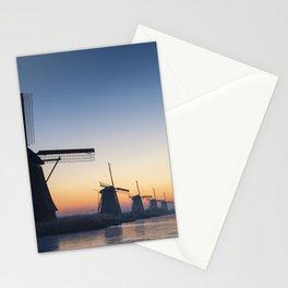 Windmills at Sunrise IV Stationery Cards