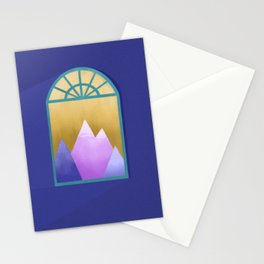Look Out The Window Stationery Cards