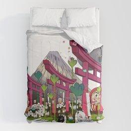 Fuji Scene Comforters