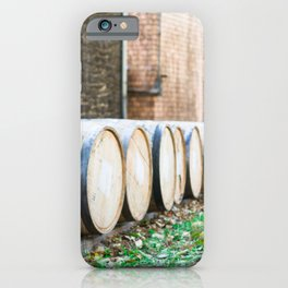 Bourbon Barrel iPhone Case