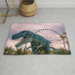 The Modern Dinosaur Rug