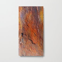 Fire Stone rustic decor Metal Print
