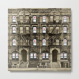 Physical Graffiti Led (Remastered) by Zeppelin Metal Print