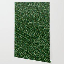 Luck in a Field of Irish Clover Wallpaper