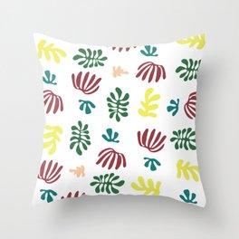 Seaweeds after Matisse Throw Pillow