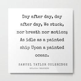 5    | Samuel Taylor Coleridge Poems | 200207 Metal Print