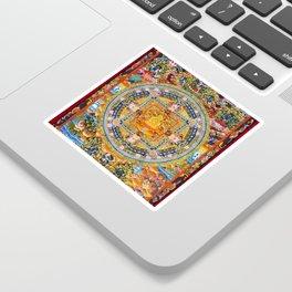 Mandala Buddhist 2 Sticker