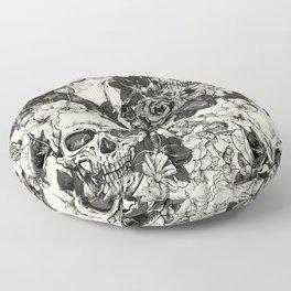 SKULLS 4 HALLOWEEN SKULL Floor Pillow