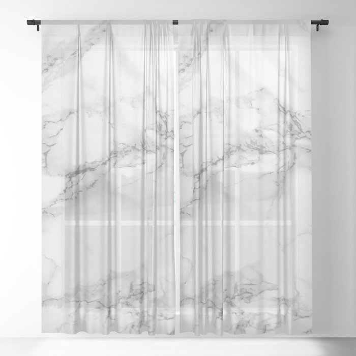 Marble Sheer Curtain