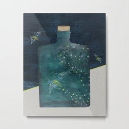 Bottle of Light Metal Print