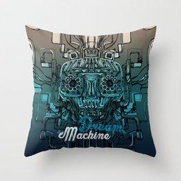 Dream Machine VI Throw Pillow