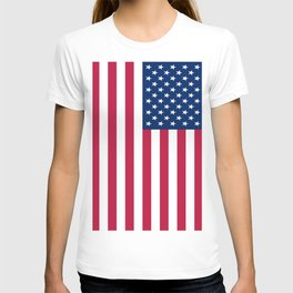 Flag of USA - American flag, flag of america, america, the stars and stripes,us, united states T-shirt