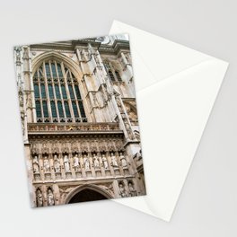 Gothic Westminster Abbey London Photo by Larry Simpson Stationery Cards