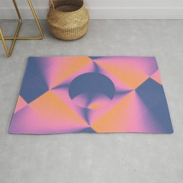 Centered and Sobering Rug