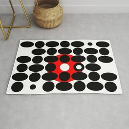 Circles and Eggs Rug