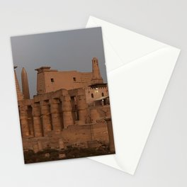 Temple of Luxor, no. 31, night scene Stationery Cards