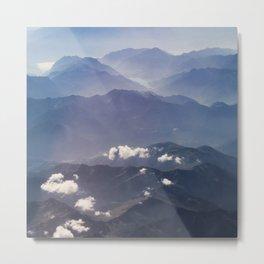 Alps view Metal Print