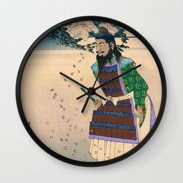 Tsukioka Yoshitoshi - Top Quality Art - Tamura Ghost Wall Clock