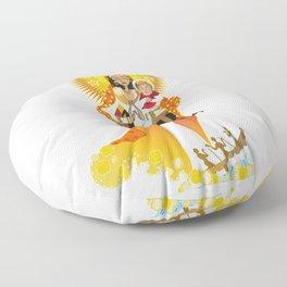 La Virgen de la Caridad del Cobre Floor Pillow