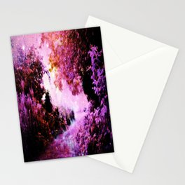 Romantic Fantasy Garden Stationery Cards