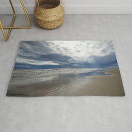Stormy Beach Days Rug