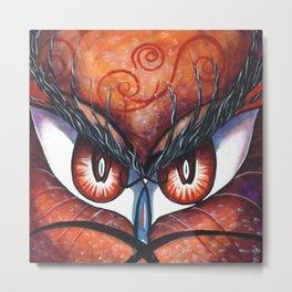 Emotional Eyes Metal Print