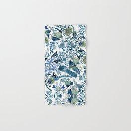 Blue vintage chinoiserie flora Hand & Bath Towel