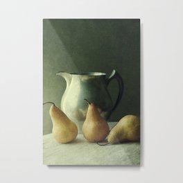 A still life series: Pears IV Metal Print