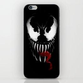 Venom, Spider man Enemie iPhone Skin