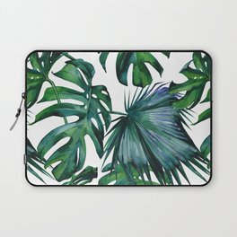 Tropical Palm Leaves Classic Laptop Sleeve