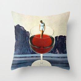 Wino Throw Pillow
