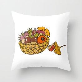 Taste of autumn Throw Pillow
