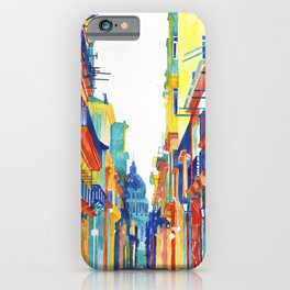Havana Buildings iPhone Case