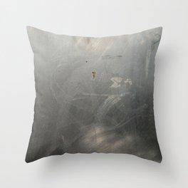 scratchy Throw Pillow