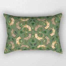 Veggie Cats Rectangular Pillow