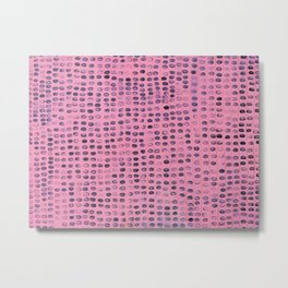 Pink Prints Metal Print