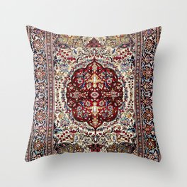 Tehran North Persian Carpet Print Throw Pillow