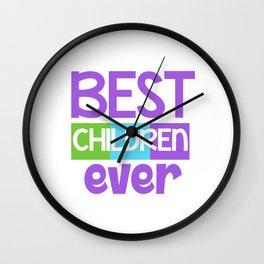 Family Tree Kinship Ancestry Household Love Bloodline Ancestors Best Children Ever Child Gift Wall Clock