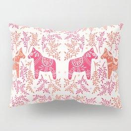 Swedish Dala Horses – Melon Palette Pillow Sham