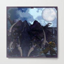Bloodborne Lunarium of the Nightmare Metal Print