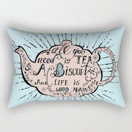 All You Need is Tea - 2. Rectangular Pillow