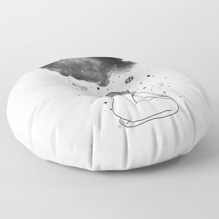 I prefer night. Floor Pillow