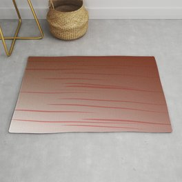 simple design lines -- choco Rug