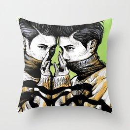 Jonghyun - BASE  Throw Pillow