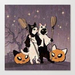 halloween cats Leinwanddruck