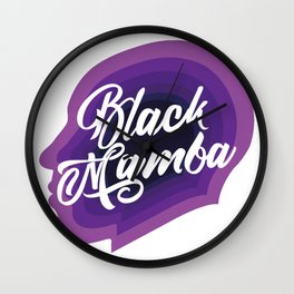 Remembering the legacy of the Black Mamba Wall Clock