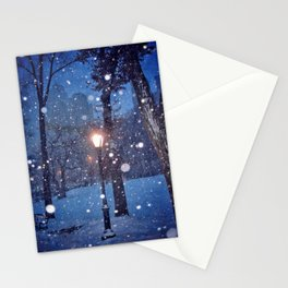 A light in the storm Stationery Cards